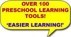 Approx. 100 different learning tools and ideas for teaching kids.