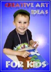 Click Image To Buy This Ultimate Creative Art Ideas For Kids  Ebook Now! $14.99