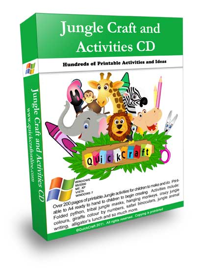 Jungle theme activities for kids preschool learning online the preschool jungle theme activities printables cd provides printables and related activity ideas for teaching preschool children about the jungle ibookread PDF