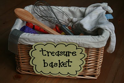 Infant discovery baskets for 6-18months help with development