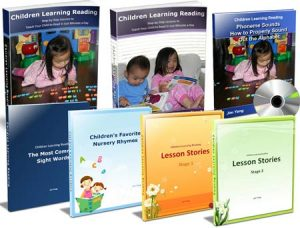 Children reading program for kids.