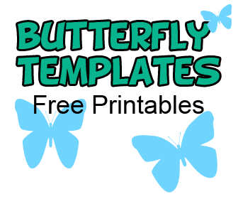 picture about Free Printable Butterfly Templates titled Butterfly Template Printable Preschool Understanding On the web