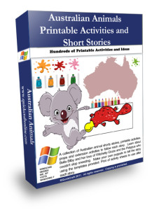 Australian animals art and craft activities for a lesson plan